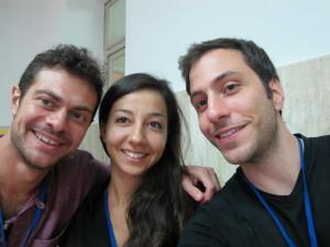 Io, Daniele e Andrea, i tre di Lima :)