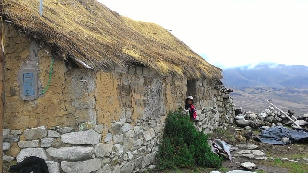 Tipica casa rurale della provincia di Cotabambas, regione di Apurimac