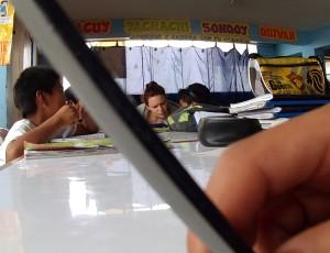 Attimi di défaillance matematica all'Apoyo Escolar.