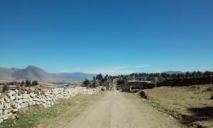 Sulla strada per Uscamarca, Distrito de Santo Tomas, Chumbivilcas