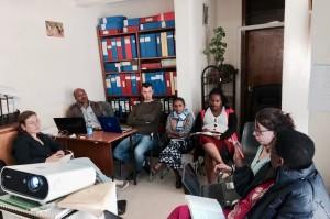 Meeting in Addis Abeba tra Project Facilitator provenienti da Bonga, Injibara, Debre Marcos (Etiopia) e Bagamoyo (Tanzania)