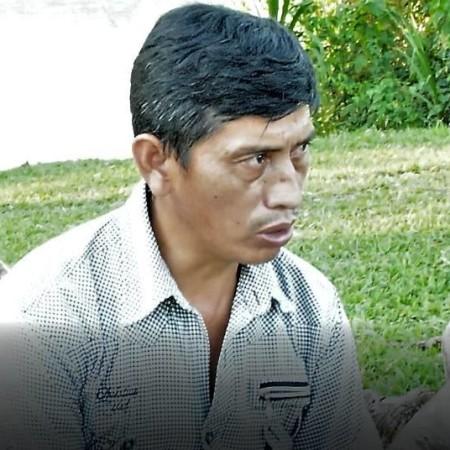 Washington Huilca, agricoltore della comunità Atahualpa