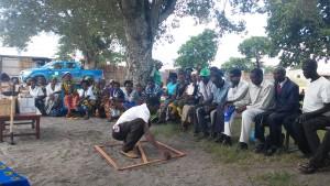 Training sulla semina nel villaggio di Nanjucha