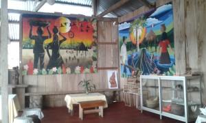 """vista del Bar di Patricia, lo """"Yacuruna RestoBar"""" di Yurimaguas"""