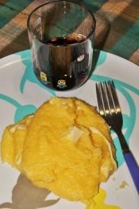 Prelibatezze ecuadoriane: polenta e queso Tony