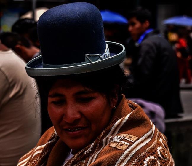 Cholita di El Alto
