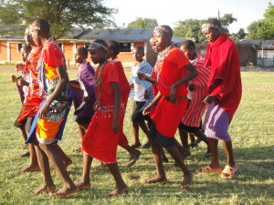studenti Masai.