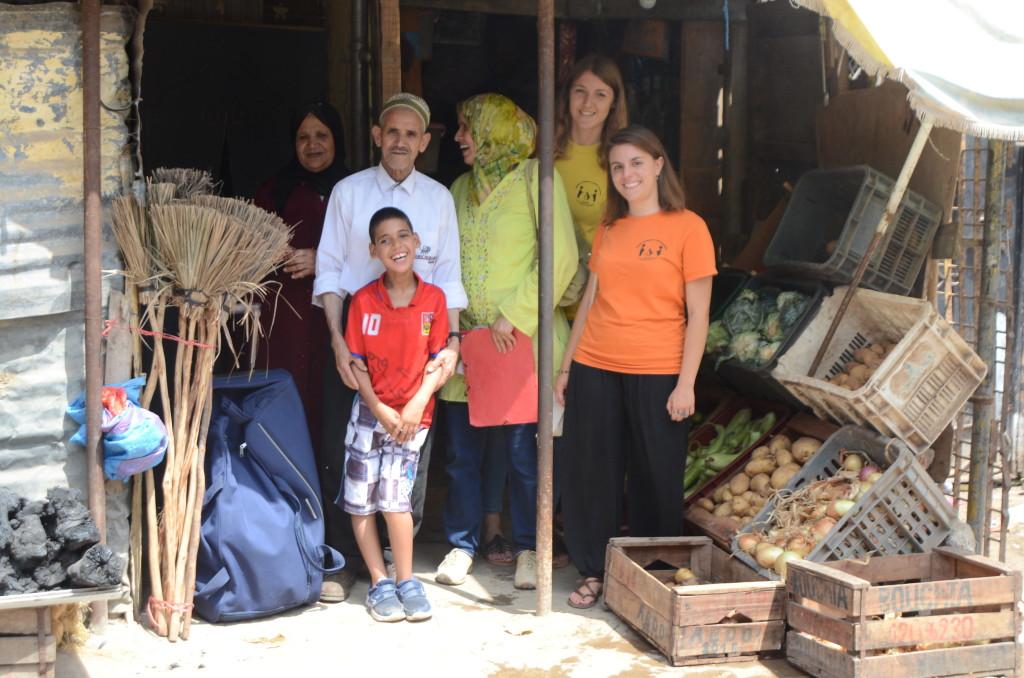 Visita domiciliare Mohamed Amine