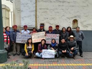 Manifestazione con e per il popolo Achuar