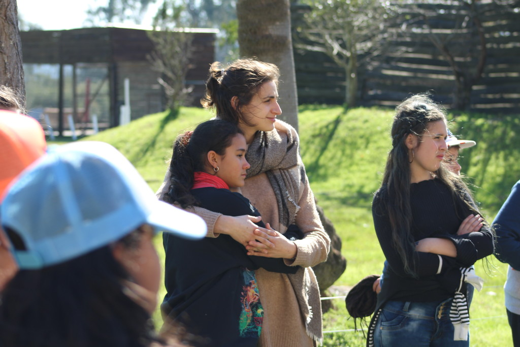 Campeggio con gli alunni del Colegio San Josè